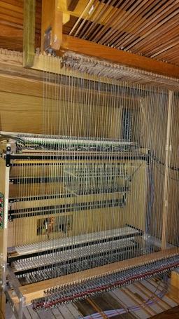 The inside of an organ, image courtesy Dillon Boyd